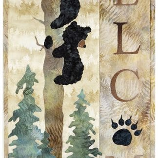 Welcome Bear Inn - Applique Pattern