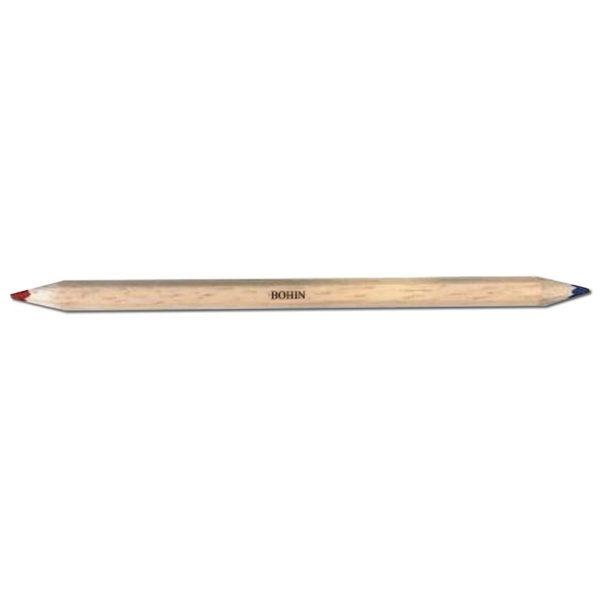 Bi-Colour Chalk Pencil – Red & Blue