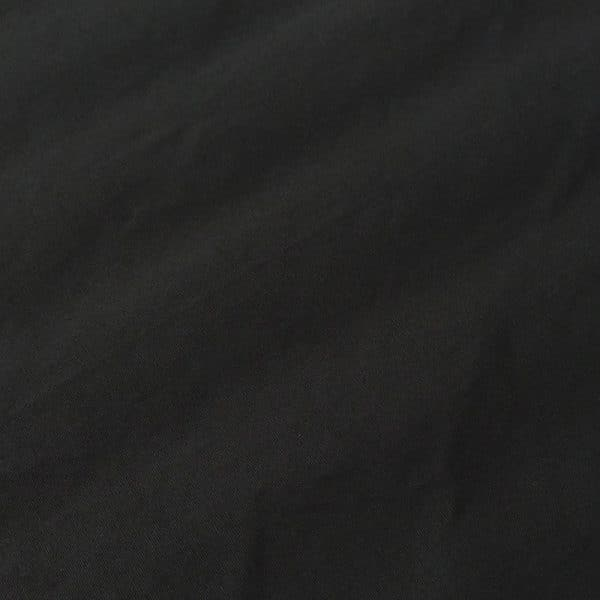 Light-weight Waxed Cotton Canvas – Black