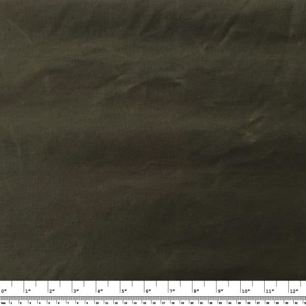 Light-weight Waxed Cotton Canvas – Olive Green