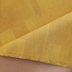 Illuminating Yellow - Surface Cork Fabric