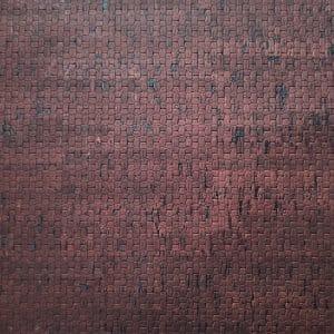 Basket weave Brown – Textured Cork Fabric