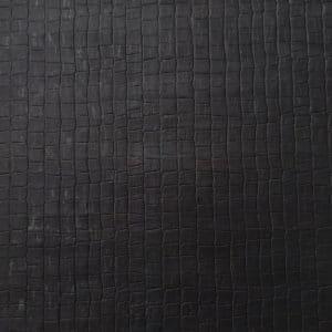 Stonewall Black – Textured Cork Fabric