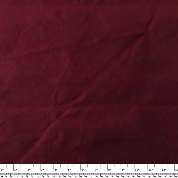 Medium-weight Waxed Cotton Canvas – Maroon