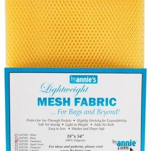 Lightweight Mesh Fabric Dandelion 18″x54″