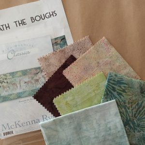 Beneath The Boughs Classics Fabric & Pattern Kit by McKenna Ryan