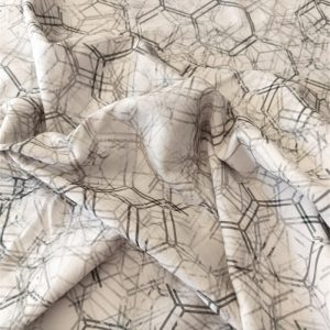 Honeycomb Grunge – Lightweight Organic Cotton Canvas