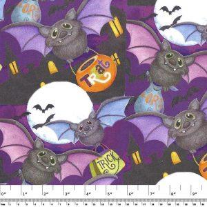 Halloween Happy Haunting Bat Toss